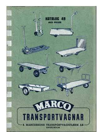 Marco ad from 1949