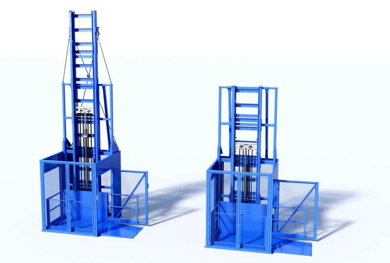 Nya MDL Industrial 550 bredvid ursprungliga MDL Industrial 350