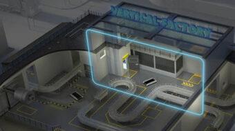Ein Raum über einer industriellen Halle, der als Lagerfläche geeignet ist